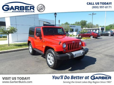 Pre-Owned 2015 Jeep Wrangler Sahara 4WD