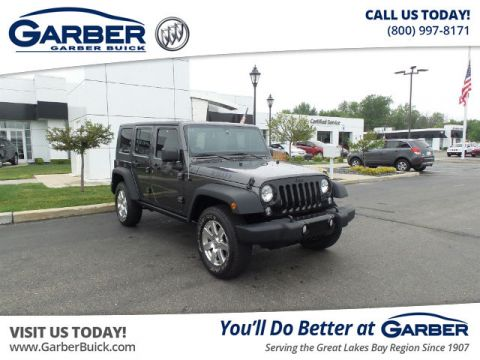 Pre-Owned 2014 Jeep Wrangler Unlimited Sport 4WD