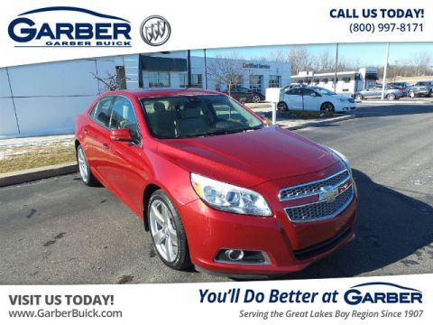 Certified Pre-Owned 2013 Chevrolet Malibu 2LZ FWD Sedan