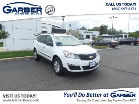 Certified Pre-Owned 2016 Chevrolet Traverse LS AWD