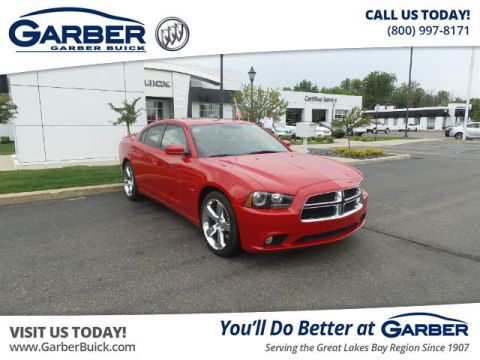 Pre-Owned 2013 Dodge Charger R/T RWD Sedan