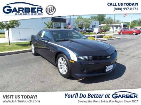 Certified Pre-Owned 2015 Chevrolet Camaro LT w/1LT RWD Coupe