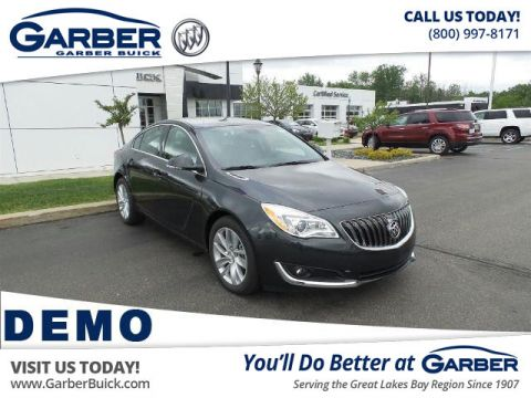 New 2016 Buick Regal Turbo Premium II FWD Sedan